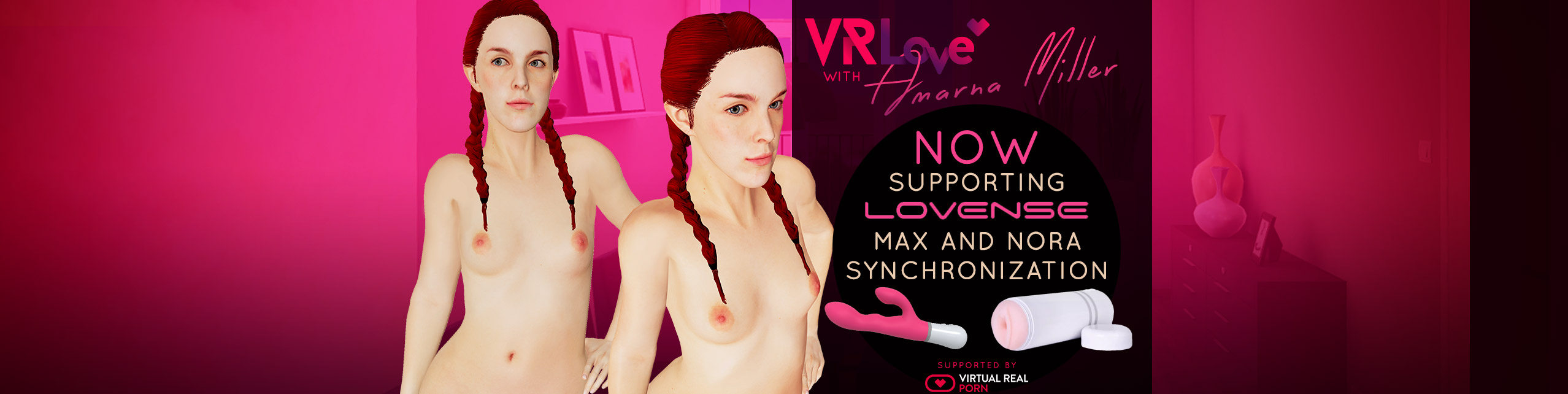 VR Love game teledildonics compatible